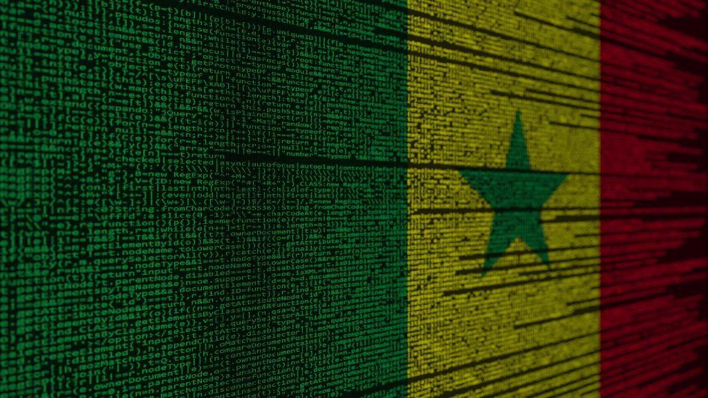 Le drapeau sénégalais en code, Amat