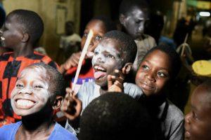 Des enfants sénégalais célèbre le nouvel an musulman