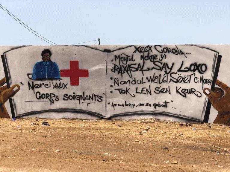 Clin d'oeil au personnel soignant et mesures pour vaincre le corona au Sénégal
