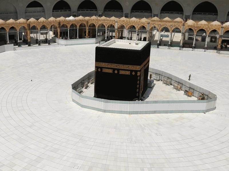 La Mecque désertée par les fidèles à cause du coronavirus